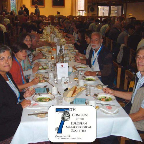 7th Congress of the European Malacological Societies, Cambridge 2014